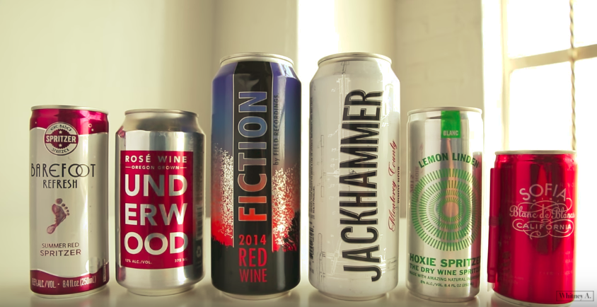 The Next Big Thing For Wine Lovers Is Canned Wine Here is Why