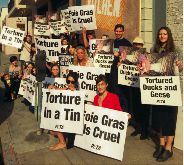 wine article California Foie Gras Ban Upheld
